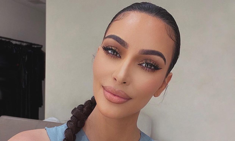 La foto que demuestra que Kim Kardashian es (mucho) más guapa sin maquillaje