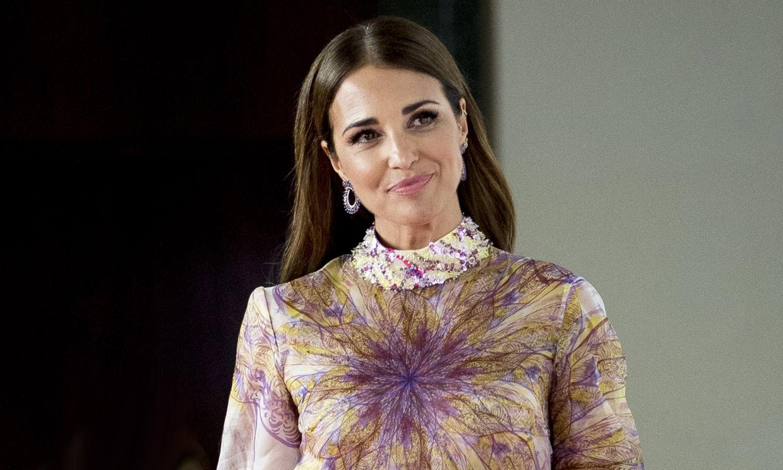 Paula Echevarría cambia de look en la recta final de su embarazo