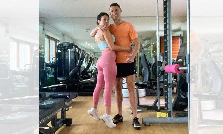 Cristiano y Georgina, ¡la pareja que entrena unida, permanece unida!
