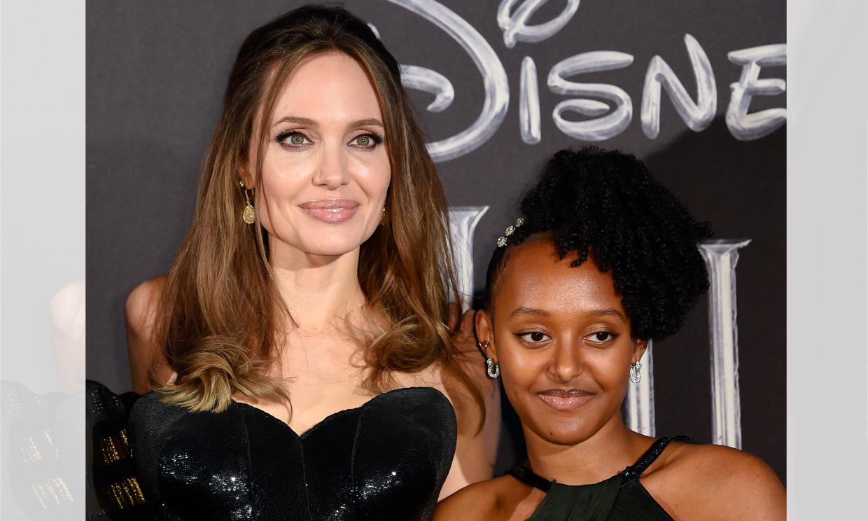 Angelina Jolie cuenta los secretos de belleza que comparte con su hija Zahara