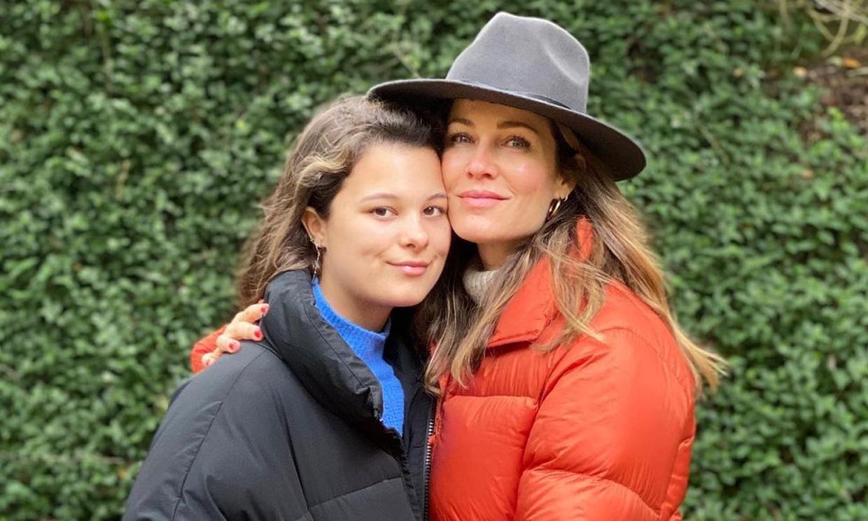 Manuela Sánchez presume de madre: 'La definición de belleza, sencillez y lealtad'