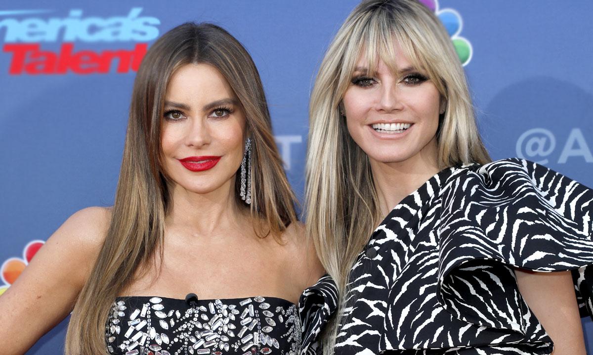 'Estás igual': El piropo de Heidi Klum a Sofía Vergara por esta foto en bikini