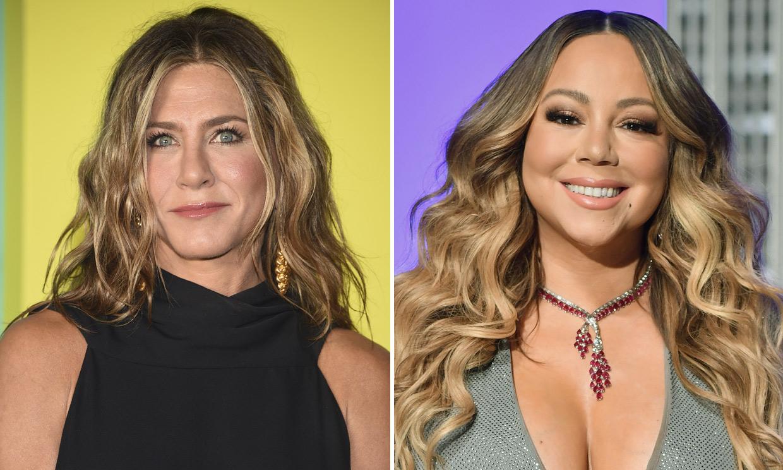 '¡Me encanta!': la reacción de Jennifer Aniston al saber que Mariah Carey quiso copiar su icónico peinado