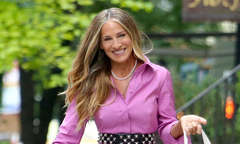 Cuando Carrie Bradshaw se dejó canas: Sarah Jessica Parker se apunta a las mechas 'Grey Blending'