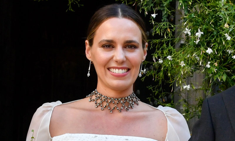 El maquillaje nupcial de Claudia Osborne, sencilla y preciosa en su gran día