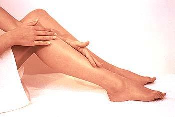 Rodillas y tobillos en perfecta forma