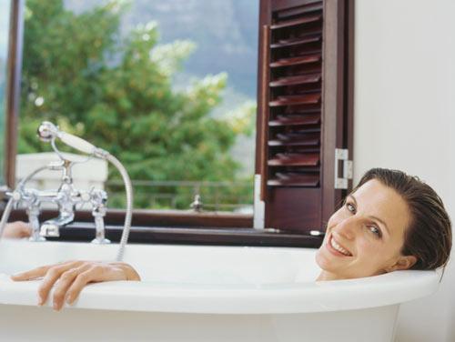 Un baño de placer