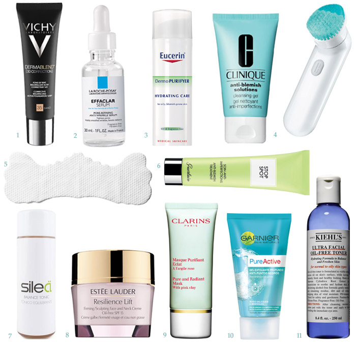 Como limpiar la cara grasosa