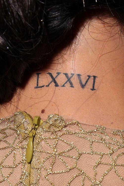 Tatuajes Minimalistas Asi Los Lleva En Su Piel Selena Gomez
