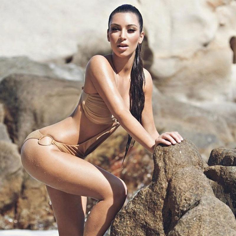Tres cosas que está haciendo Kim Kardashian para eliminar la celulitis
