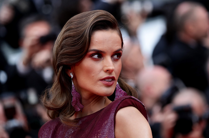 Izabel Goulart Cannes Festival maquillaje