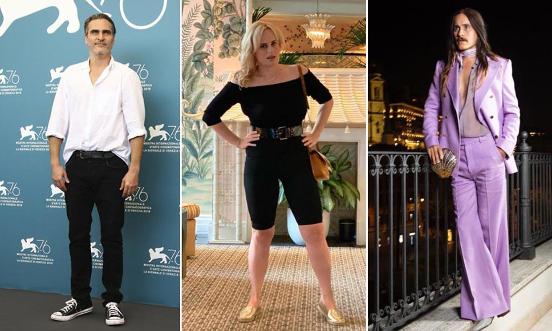 Las transformaciones de peso más llamativas de Hollywood