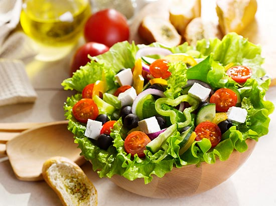 Ingredientes para una ensalada nutritiva y con pocas calor as - Ideas de comidas sanas ...