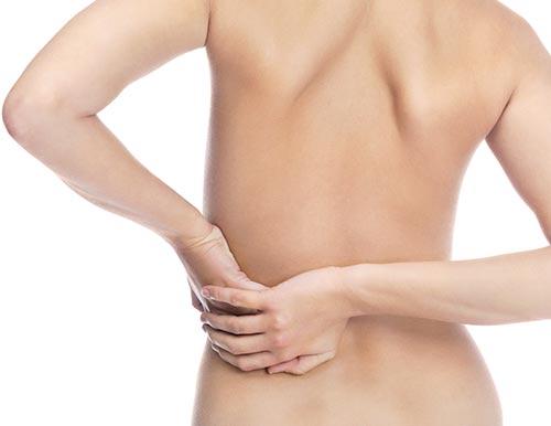 ¿Te duele la espalda?