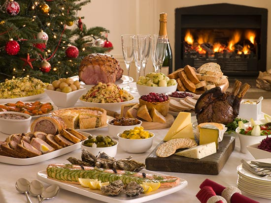 El semáforo de alimentos para estas navidades