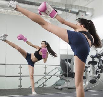 'Kick boxing', a golpes con el estrés