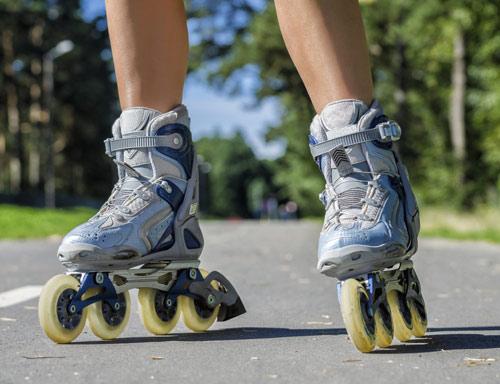 ¡Ponte en forma sobre patines!