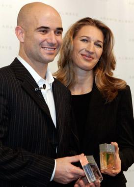 Con aroma a André Agassi y Steffi Graf