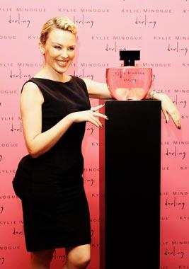 Kylie Minogue presenta su primer perfume