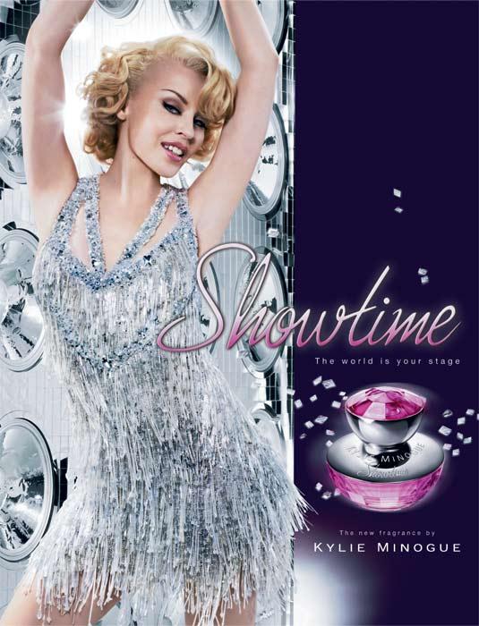 Kylie Minogue presenta su nuevo aroma