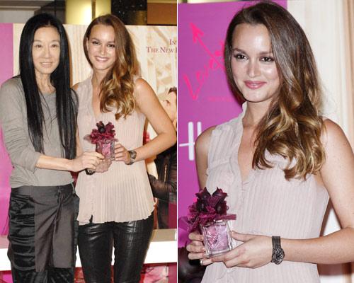 Leighton Meester promociona el perfume 'más romántico' de Vera Wang