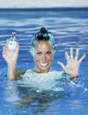 Gemma Mengual, una 'sirena' de lujo para presentar un nuevo aroma