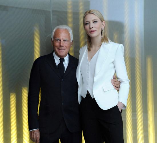 Cate Blanchett, musa del nuevo aroma de Armani