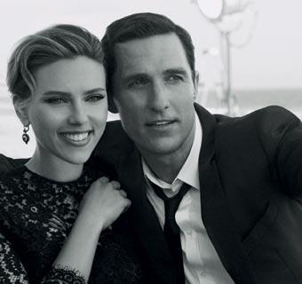 Scarlett Johansson y Matthew McConaughey, una pareja de anuncio