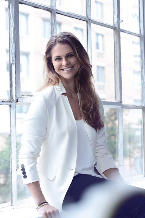 Magdalena de Suecia, la belleza de una princesa solidaria