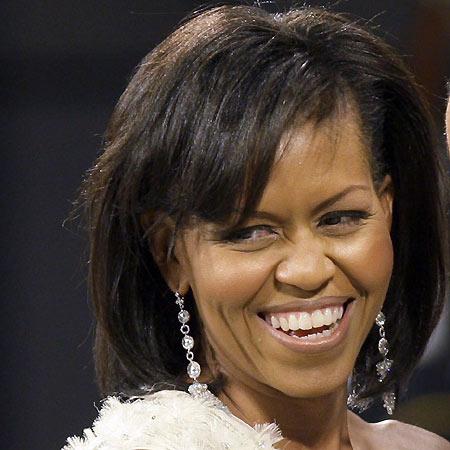 Michelle Obama, un 'look' cuidado y muy natural