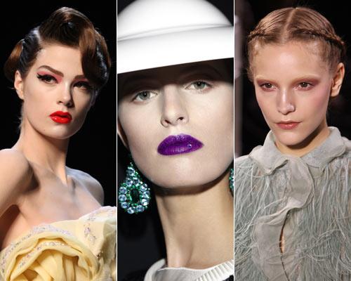 Todo el 'glamour' del maquillaje en los desfiles de Alta Costura