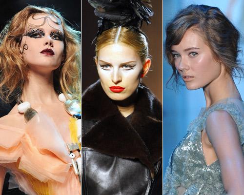 ¿Quieres ver los 'looks' de maquillaje de la Alta Costura?