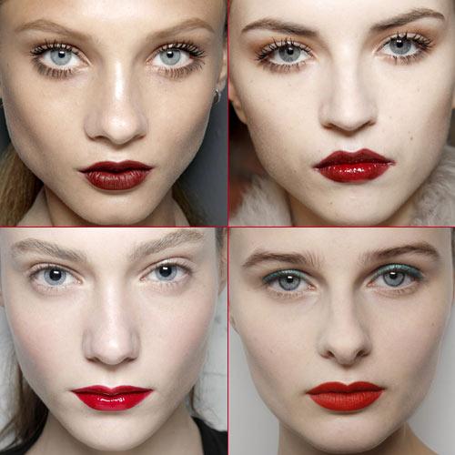 Labios todo al rojo for Labios mate paso a paso