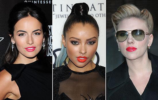 Blake Lively, Scarlett Johansson... las famosas también apuestan por los labios flúor