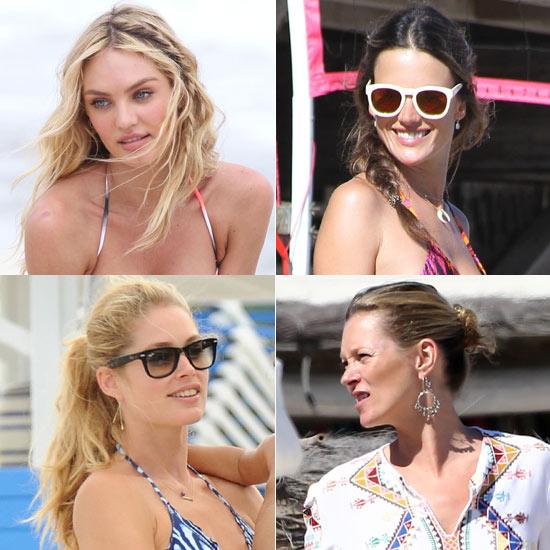 Peinados para la playa: copia el 'look' de las modelos