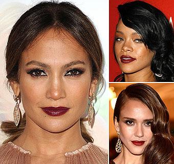 Jennifer López, Rihanna, Jessica Alba... Y tú, ¿te apuntas al misterio de los labios oscuros?