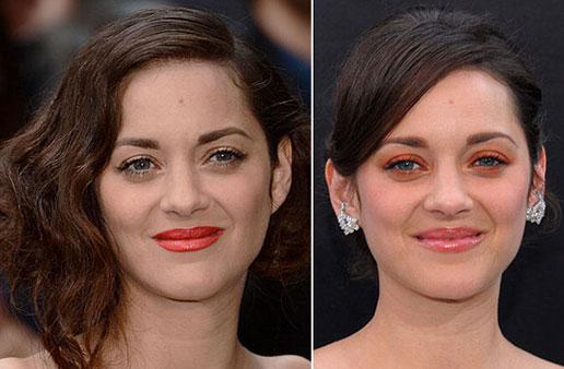 Maquillajes de alfombra roja: Marion Cotillard nos propone dos 'looks' en tonos naranjas