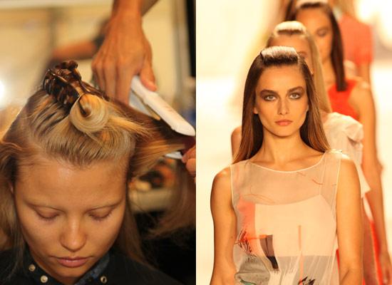 Peinados de pasarela: entramos en el 'backstage' de Carolina Herrera