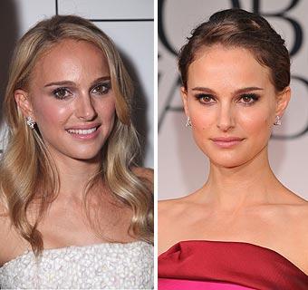 ¿Quieres ver todos los cambios de 'look' de Natalie Portman?