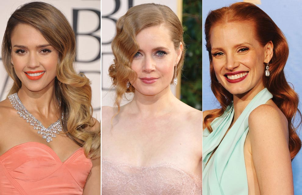 Melenas sueltas y ondas 'retro', la combinación triunfadora en los 'looks' de las actrices