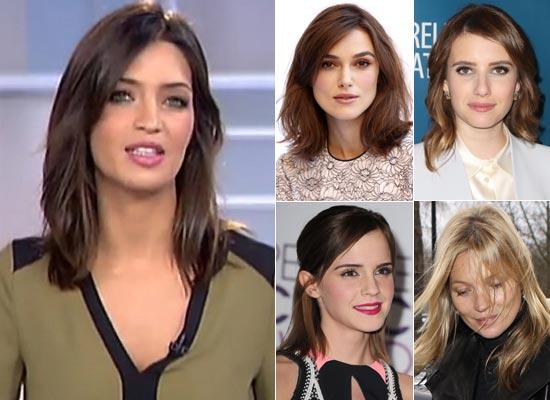 Media melena, el corte de moda entre las famosas