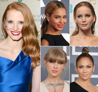 Peinados para triunfar en la alfombra roja, ¿con cuál te quedas?