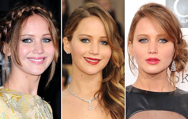 20 cambios de 'look' de Jennifer Lawrence, ¿con cuál te quedas?