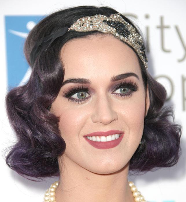 Katy Perry, peinados inspirados en 'El Gran Gatsby'