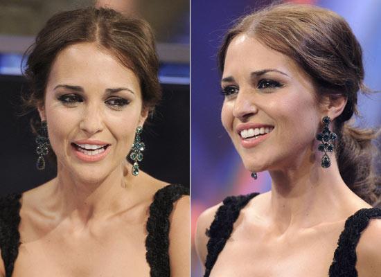 Y el mejor 'look' de Paula Echevarría es...