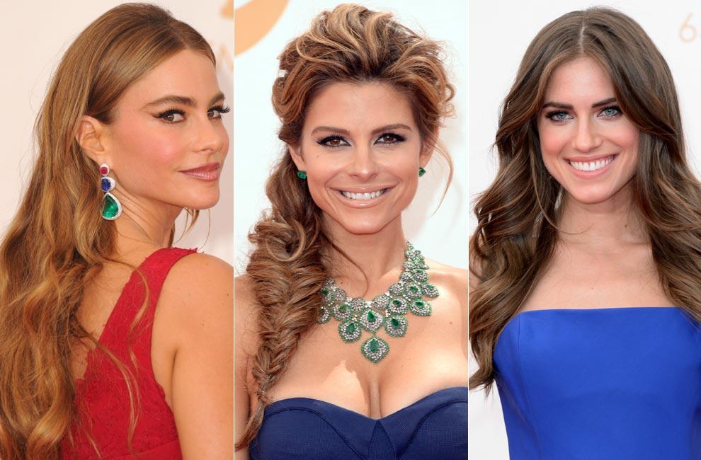 Cu les han sido los peinados de las actrices en los - Peinados de melenas largas ...