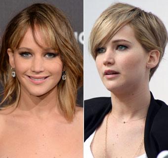Jennifer Lawrence apuesta por el corte 'pixie'