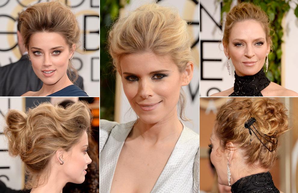 ¿Cuáles fueron los 'beauty looks' de las actrices en la alfombra roja de los Globo de Oro?