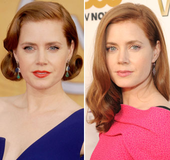 Amy Adams en cuatro 'looks'