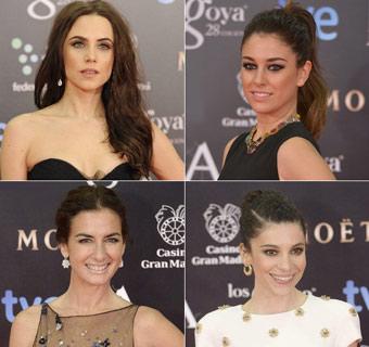 Aura Garrido, Blanca Suárez, Belén López e Irene Visedo: cuatro peinados de alfombra roja, paso a paso